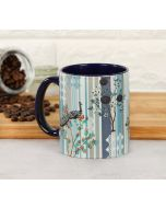 India Circus Peafowl Eclipse Coffee Mug