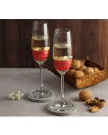 India Circus Pink Honeycomb Champagne Glass (Set of 2)