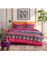 India Circus Placid Patterns Bed Sheet Set