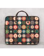 India Circus Platter Portrayal Laptop Bag