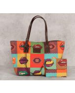India Circus Playful Banter Tote Bag