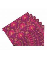 India Circus Poly Palmeira Table Mat Set of 6