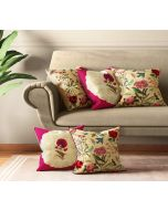 India Circus Poppy Bird Land Cushion Cover Set of 5