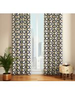 India Circus Poppy Flower Door Curtain