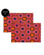 India Circus Prismatic Hexagons Kitchen Towel