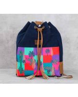 India Circus Putative Insignia Denim Hobo Bag