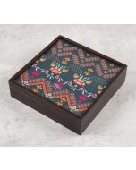India Circus Rangoli Motifs Storage Box