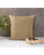 India Circus Rice Bead Beige Cushion Cover
