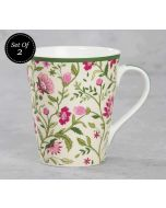 India Circus Rose Mallow Moscheutos Zing Mug