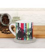 India Circus Royal Descend Espresso Mug