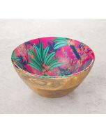 India Circus Royal Palms Wooden Bowl