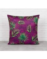 India Circus Sangria Tropical Fall Blended Velvet Cushion Cover