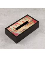 India Circus Scarlet Shadows Tissue Box Holder