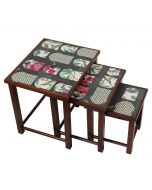 India Circus Signature Windows Nested Table