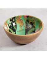 India Circus The Famished Cheetah Serving Bowl