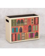 India Circus The Mughal Era Leather Desk Organiser