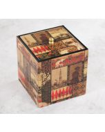 India Circus The Mughal Era Square Storage Box