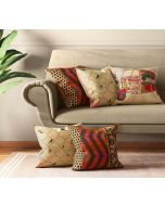 India Circus The Mughal Rickshaw Cushion Cover Set of 5