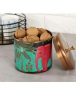India Circus Tropical Paradise Storage Jar