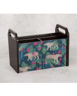 India Circus Tropical Tiger Desk Organizer