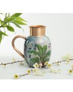 India Circus Tropical View Copper Jug Set