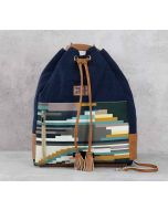 India Circus Weaves of Blarney Denim Hobo Bag
