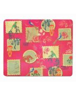 India Circus Wildlife Stamps Mouse Pad