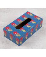 India Circus Yale Flower Regalia Tissue Box Holder