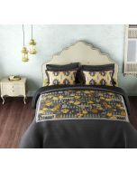 India Circus Yellow Capital Bedsheet Set