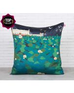 Lotus Leaf Reservoir Blended Taf Slik Cushion Cover