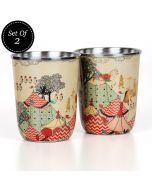 Medieval Times Small Steel Tumbler (Set of 2)