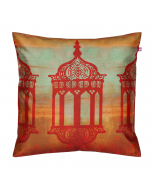 Minaret Mystique Poly Taf-Silk Cushion Cover