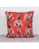 India Circus Monkey Games Cushion Cover