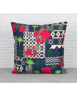 India Circus Monochrome Ensemble Cushion Cover
