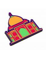 Mumtaz's Taj MDF Fridge Magnet