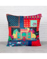 Mystical Empire Blended Velvet Cushion Cover
