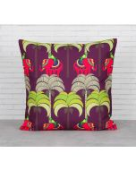 India Circus Palmeria Tusker Reiteration Cushion Cover