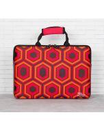 India Circus Prismatic Hexagons Laptop Sleeve and Bag