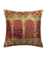 Fleur de Fuchsia Poly Velvet Cushion Cover