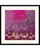 Pink and Blossoms Framed Wall Art
