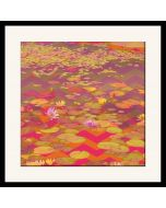 Lotus River Framed Wall Art