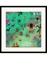 Desi  Wonderland Framed Wall Art