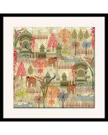 Mughal Treasures Framed Wall Art