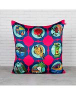 The Indian Influx Blended Taf Slik Cushion Cover