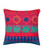 Tropical Wonderland Poly Velvet Cushion Cover
