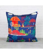 Village Reverie Blended Taf Slik Cushion Cover