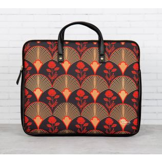 Fans of Blossom Laptop Bag