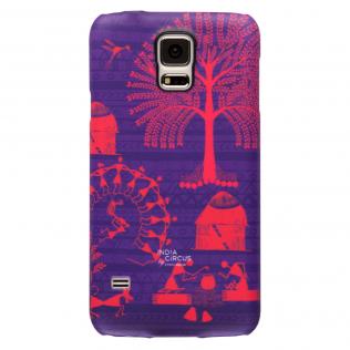 Warli Village Samsung S5 Cover