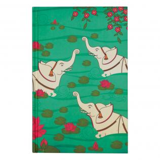 Elephant Bath Notebook