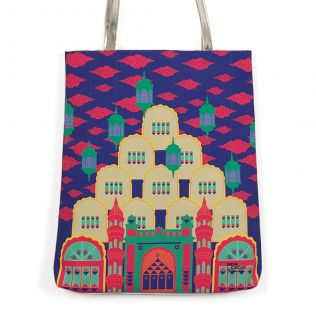 Dreams of a Palace Jhola Bag